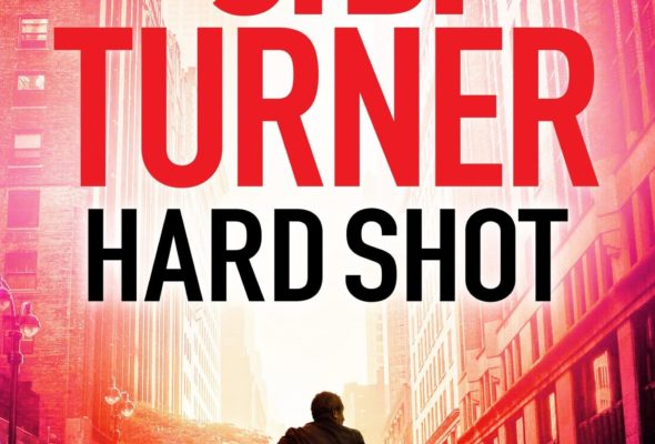 The cover of Hard Shot, the 7th Jon Reznick thriller by J.B. Turner