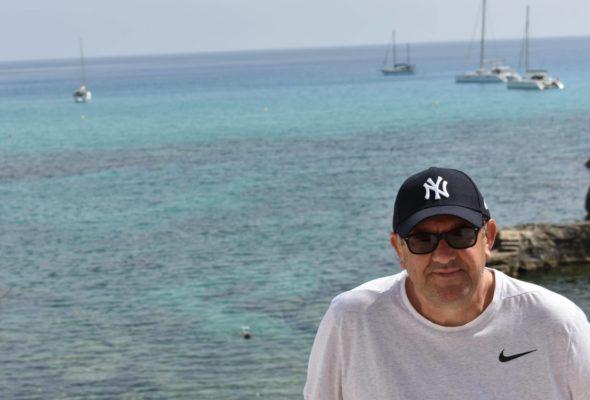 Author J.B. Turner in Majorca